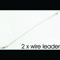 2 x wire leader #2 panjang = 18 cm beban max=8kg