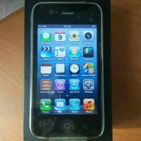iphone 3gs 8gb black FU ios 6.1.6 support BBM ex USA