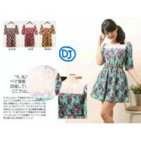 Dress Import Amelia Brokat Flow/Dress Wedges Import/Grosir Dress Mewah