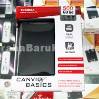 Toshiba Canvio Basic 3.0 External HardDrive Harddisk 500GB - Hard disk Hard Drive Eksternal