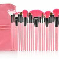 Brush SET Makeup for you / Make up for you Bamboo 24pcs - PINK Halus
