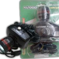 Senter Kepala/ Head Lamp M2000 MR-102-HTL Harga Mu