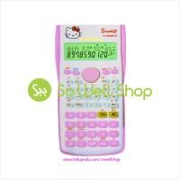 Kalkulator Calculator Scientific Hello Kitty Sanrio KT-350 MS VC