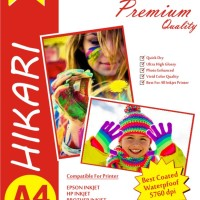 Glossy Photo Paper 210G - A4 - Paket 4 pack