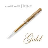 Uni-ball Signo Broad UM-153 Gold Pen (Gel Ink)