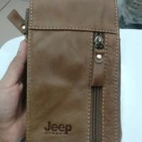 hpo jeep kulit 6309 (sarung hp,tempat hp,dompet hp)