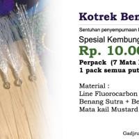 harga Kotrek Kembung & Tengkek Sutra Putih Tokopedia.com