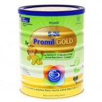 Susu S26 GOLD Tahap 2 - PROMIL 900 Gram