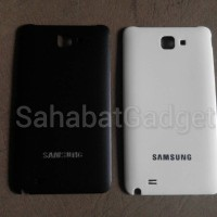 Back Cover (Tutup Belakang) Samsung Galaxy Note1 N7000/I9220 WHITE