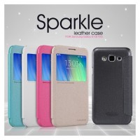 Nillkin Sparkle Leather Case / Flipcover Samsung Galaxy E7