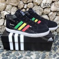 harga sepatu adidas vespa hitam tinggi lis warna Tokopedia.com