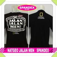 T-Shirt Nat Geo Jalan Jalan