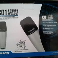 Studio Condenser Microphone C01 / C 01 Samson / Microphone Samson C01