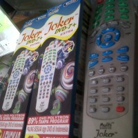 Remote DVD Universal Joker RM99 + ID TYPE Dvd-7 + EXTRA