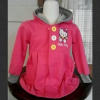 Jaket Anak Hello Kitty Pink