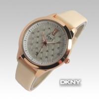 DKNY Date Diamond Plate (Krem)