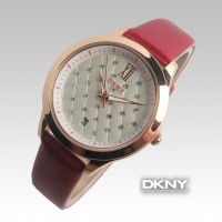 DKNY Date Diamond Plate (Merah)