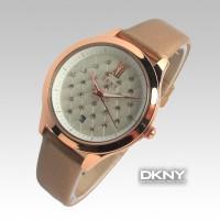 DKNY Date Diamond Plate (Cokelat Tua)