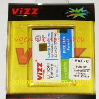 Battery Smartfren Andromax C 2500MAH VIZZ longlasting Baterai