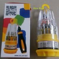 OBENG SET CELLKIT 6030A High Quality Screwdriver