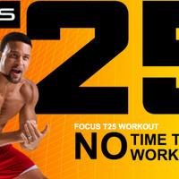Paket DVD Olahraga FOCUS T25 Alpha Beta Gamma With Shaun T,Wajib Punya