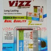 Battery Blackberry Gemini 8250 2200MAH VIZZ long lasting Baterai BB CS2