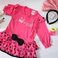 harga Terusan Anak Cewek Minnie Mouse / Pakaian Anak Cewek 6m-18m Tokopedia.com