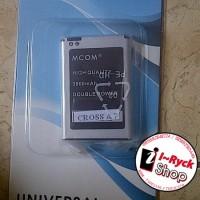harga baterai dobel power mcom evercoss cross a7 3800mah japan cell 100% Tokopedia.com