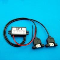 harga Converter (step Down) Dc 12 Volt Ke 5 Volt 3 Amper Double Usb Output Tokopedia.com