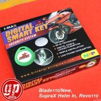 Kunci Rahasia / Alarm Motor Honda Blade110 / New, SupraX Helm In, Revo110