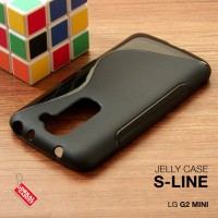 LG G2 Mini Soft Gel Jelly Silicon Silikon TPU Case Softcase Hitam