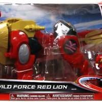 POWER RANGER ZORD BUILDER WILD FORCE RED LION MEGAZORD