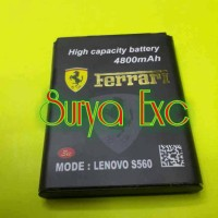 Baterai Battery Lenovo BL169 BL-169 S560 Double Power 4800mAh