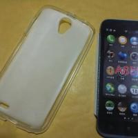 Softcase/silikon/kondom/soft case Lenovo A859 Transparan/bening/putih