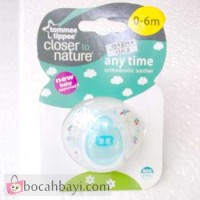 Anytime Orthodontic Soother Tomme Tippee 0-6 Motif Rocket
