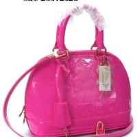 LV Alma Vernis PM Pink