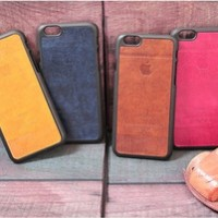 Leather Design Hard Case For Iphone 6