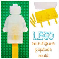Lego Minifigure Ice Lollipop Popsicle Mould Mold Tray By Lego
