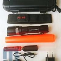 harga Senter Police Swat 500.000w Cree Q5 Nk-110s Kompas Box Koper Hardcase Tokopedia.com