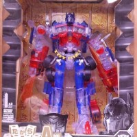 Transformers Optimus Prime Clear Rotf Misb