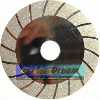 "Mata Diamond Putih Strip 100mm 4"" Batu Potong Gerinda Cutting Disc"
