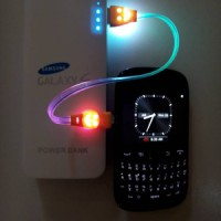harga Kabel Data Cas Usb Smile Full Lampu Untuk Powerbank Android Bb Dll Tokopedia.com