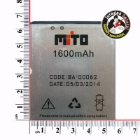 Baterai /Battery BA-00062 for MITO A65 (Fantasy Card) 1600mAh Original