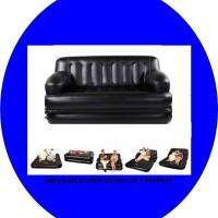 Sofa kasur angin 5 in 1 hitam BESTWAY