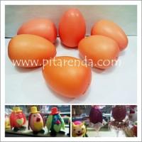 harga Tlur-05 : Telur Ayam Plastik Coklat Untuk Bahan Kerajinan Tokopedia.com