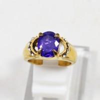 harga Cincin Wanita/cewek Batu diamond kecubung titanium Tokopedia.com