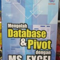 harga Mengolah Database Dan Pivot Dengan Ms. Excel Tokopedia.com