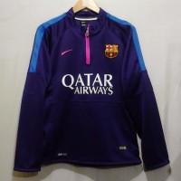 Sweater Half zipper training kit Barca ungu 14/15