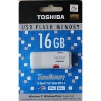 FLASHDISK TOSHIBA 16GB ORIGINAL GARANSI RESMI ISI FULL 100%