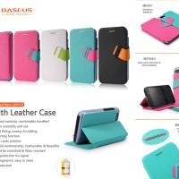 Baseus Faith Leather Flip Book Stand Cover Case Blackberry Q5
